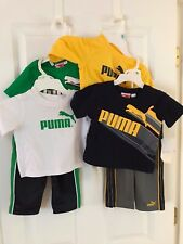 PUMA NWT 3PC Top Shirt Pants Now & Later 12 18 24