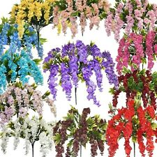 39 inch Silk Wisteria Bush Artificial Flowers Wedding Arrangements Decorations