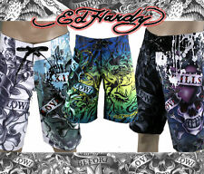 ED Hardy BOARD SHORTS swim trunks LOVE KILLS SLOWLY