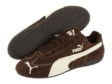 PUMA SPEED CAT Suede Shoes Men's Brown White 301953 NWT
