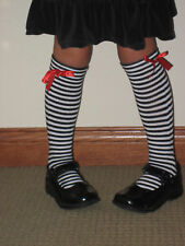 New Knee High Socks Leggings Girls NWT Cotton Over the Knee Length One Size