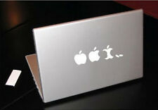 APPLE EVOLUTION NOM NOM MACBOOK TABLET ART VINYL DECAL
