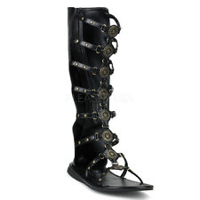 PLEASER Mens Gladiator Roman Halloween Costume Sandals
