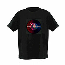 Sound Activated LED T-Shirt Music Disco Michael Jackson