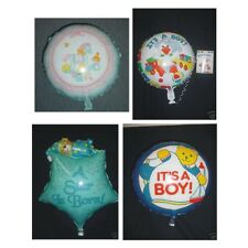 ITS A BOY HELIUM FOIL BALLOONS 4 TYPES AVAILABLE