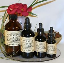 PEPPERMINT Tincture Extract  ~indigestion,nausea 4sizes