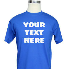Custom T-Shirt - customised, personalise with your own text