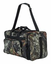 "PEACHES MOSSY OAK Licensed Camo Hunt Fish Gear 20"" DUFFLE Bag BREAK UP Duffel"