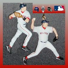 MLB BOSTON RED SOX-2 FIGURES FAN PULLS-SCHILLING/GARCIAPARRA OR MARTINEZ/RAMIREZ