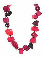 SOBRAL Indiana Jones Red Long Necklace from Jackie Brazil - NEW ITEMS!