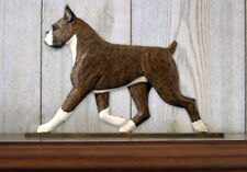 Boxer (Dog in Gait) Topper. In Home Wall or Shelf Decor Products & Gifts.