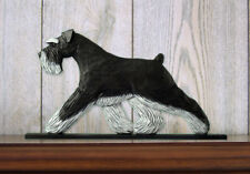 Schnauzer (Natural) (Dog in Gait) Topper. In Home Wall or Shelf Products & Gifts