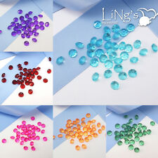 1000 pieces 6.5mm 1ct. Diamond Confetti Wedding Party Table Scatter Decoration
