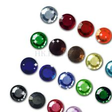 you pick 6ss 10ss 16ss High Quality crystal Iron on Flatback Hot fix Rhinestones
