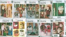 McCalls Christmas Door Porch Greeters Hanger Holiday Decoration Sewing Pattern