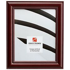 Craig Frames New Brunswick Classic, Cherry Red Hardwood Picture Frame