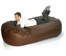 Faux Leather Sofabed Bean Bag! 200cm  NEXT-DAY-DELIVERY
