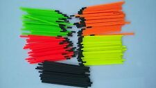 hollow plastic tips for pole floats (30 in a pack)