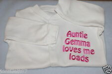 PERSONALISED BABY SLEEPSUIT/BABYGROW, GREAT NEW BABY GIFT, ANY WORDING!