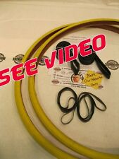 700 x 25 YELLOW 2 Bike TIRES, TUBES, RIMSTRIPS Road  Bicycle CST 4011.50.0000