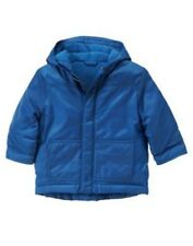 GYMBOREE ICE HERO BLUE PUFFER HOODED JACKET 6 12 24 4T 5T NWT