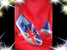 Raben Shoes Canvas Slip On Australian Flag / Aussie Flag - Kid  Women Men Size