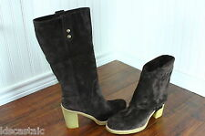 New Womens UGG Josie Size 5-11 Stout Suede/Leather Convertible Tall Boots Brown