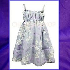 ※062※New= Next - Girls 100% Cotton Floral Print Strappy Dress (2 - 4Y)Purple