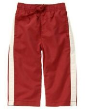 GYMBOREE SPY GUYS RED ACTIVE PANTS 18 24 3T NWT