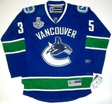 CORY SCHNEIDER VANCOUVER CANUCKS 2011 CUP JERSEY