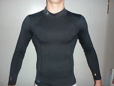 PRECISION TRAINING BASE LAYER LONG SLEEVE TURTLE NECK JUNIOR BLACK: BEST PRICE