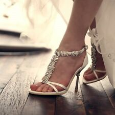 Wedding Shoes Bridal Heel Shoes Women High Heel Dress Prom Party Shoes No.3028