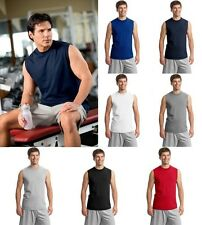 JERZEES Mens S-2XL 3XL Heavyweight Cotton Sleeveless Muscle Sports T-Shirt 49M
