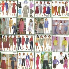 OOP Butterick Sewing Pattern Misses Size 18 20 22 w/ Plus Size Full Figure