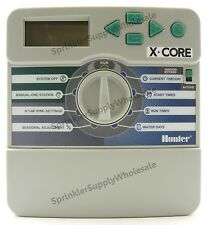 Hunter X-Core Indoor Controller Timer 2, 4, 6, 8 Stations Zones Xcore Clock 120V