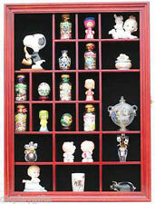 Wall Curio Cabinet / Miniature Shadow Box Display Case w/ glass door ( TC02B  )