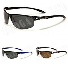 New Black Polarized Mens Ladies Retro Unisex Designer X-Loop Sunglasses UV400 72