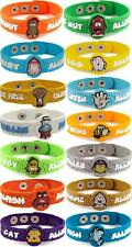 AllerMates Allergy Wristbands alert Medical ID Silicone Bracelet Emergency jewel
