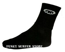 TWF WETSUIT SOCKS SOX 3MM NEOPRENE AQUA SOCKS  BOOTS UK SIZES ADULT/JUNIOR 3-12