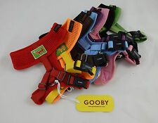 Gooby freedom dog harness for dogs that pull,orange,red,blue,black,green, XS-XXL