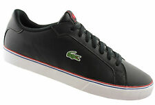 LACOSTE MARLING LOW MENS BLACK  LACE UP SHOES/SNEAKERS/CASUAL/FASHION/SALE