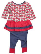 Baby Girls Top & Leggings 2 piece Set Outfit Newborn & Up to 1 Month NEW M&  S