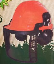 Chainsaw Helmet, Face Shield, Ear Muffs, Forestry Helmet Safety System