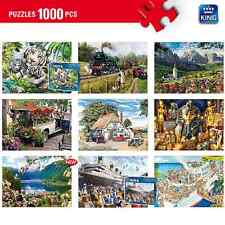 1000 Pieces Jigsaw Puzzles -  30 Traditional & Comic Puzzles To Choose From!