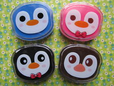 Adorable Penguin Head Contact Lens Case  (4 colors)