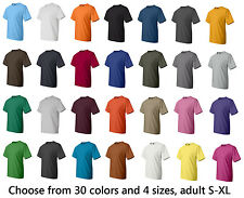 Hanes Beefy T, Blank 100% Cotton t-shirt, 30 colors, Sizes S-XL (5180)