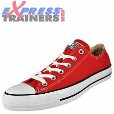 Converse Mens All Star Lo Chuck Taylor Senior Trainers Red * AUTHENTIC *