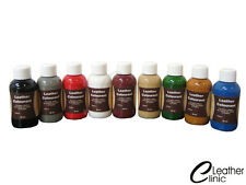 CREAM 50-250 ML Leather Colour Coat Re-Colouring / Dye Stain Pigment Paint --