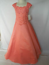 New Girl National Pageant Wedding Recital Formal Party Dress size  14 16 Red