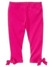 GYMBOREE PANDA ACADEMY DARK PINK BOW LEGGINGS 3 4 6 7 8 12 NWT